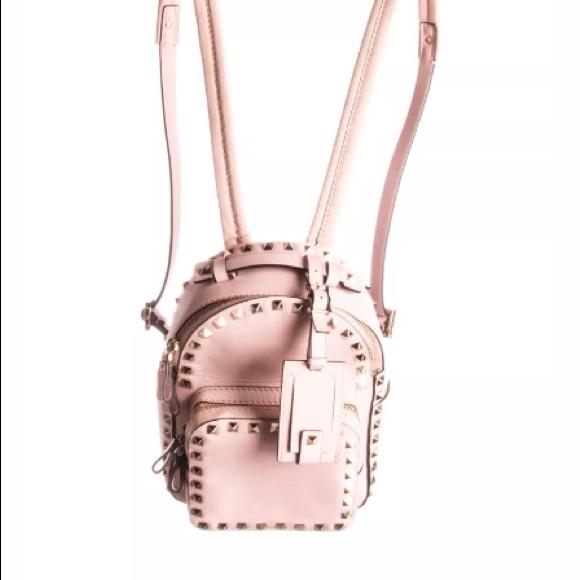 623a6f7fbe Valentino Garavani Bags | Rockstud Pink Mini Backpack | Poshmark